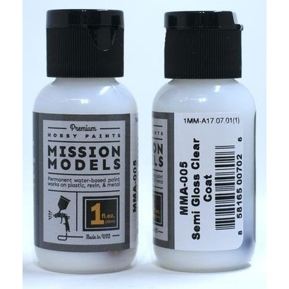 MMP-Mission Models MMA-005 SEMI GLOSS CLEAR COAT