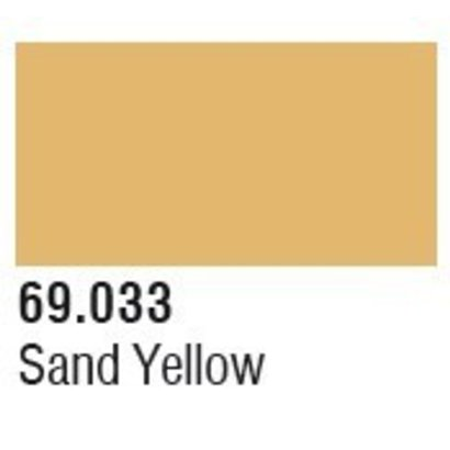 VLJ-VALLEJO ACRYLIC PAINTS 69033 Sand Yellow Mecha Color 17ml Bottle
