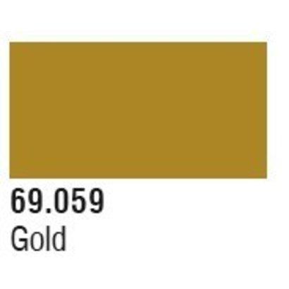 VLJ-VALLEJO ACRYLIC PAINTS 69059 Gold Mecha Color 17ml Bottle