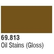 VLJ-VALLEJO ACRYLIC PAINTS 69813 Oil Stains Mecha Color 17ml Bottle