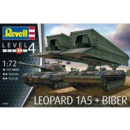 RVL- Revell Germany 03307 1/72 Leopard 1A5/Bridgelayer Biber