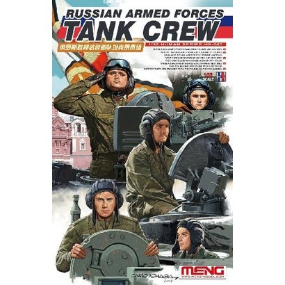 MGK-MENG MODEL KITS HS007 1/35 Russian Armed Forces Tank Crew Figure Set (4)
