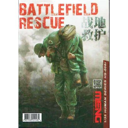 MGK-MENG MODEL KITS HS008R 1/35 BATTLEFIELD RESCUE (RESIN)