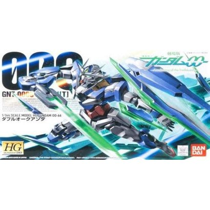 BAN - Bandai Gundam 164561 1/144 #66 00 Quanta Gundam 00 Series