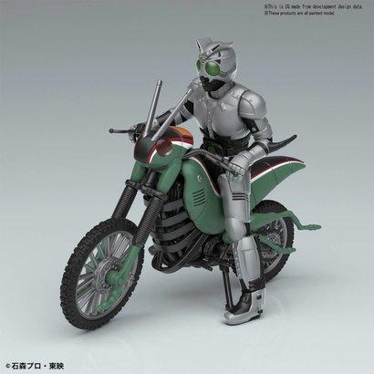 "BAN - Bandai Gundam 221053 Kamen Rider Series Battle Hopper & Shadow Moon ""Kamen Rider"", Bandai Mecha Collection"