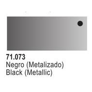 VLJ-VALLEJO ACRYLIC PAINTS BLACK 17ML - Model Air