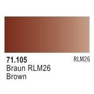 VLJ-VALLEJO ACRYLIC PAINTS BROWN RLM26  - Model Air