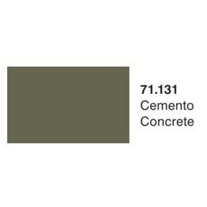 VLJ-VALLEJO ACRYLIC PAINTS 71131 CONCRETE 17ML - Model Air