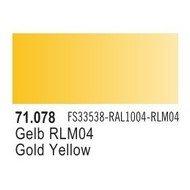 VLJ-VALLEJO ACRYLIC PAINTS RLM04 YELLOW - Model Air