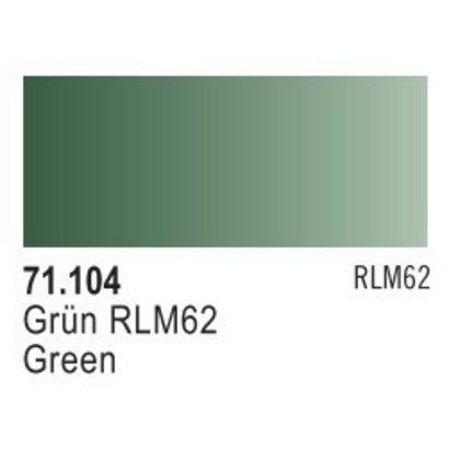 VLJ-VALLEJO ACRYLIC PAINTS 71104 GREEN RLM62 17ML - Model Air