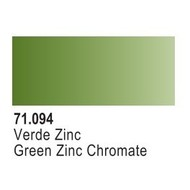VLJ-VALLEJO ACRYLIC PAINTS GREEN ZINC CHROMATE - Model Air