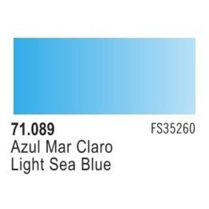 VLJ-VALLEJO ACRYLIC PAINTS 71089 LIGHT SEA BLUE 17ML - Model Air