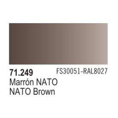 VLJ-VALLEJO ACRYLIC PAINTS 71249 - NATO BROWN                  17ML