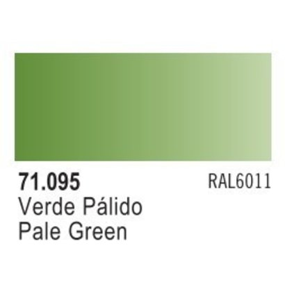 VLJ-VALLEJO ACRYLIC PAINTS 71095 - PALE GREEN                  17ML