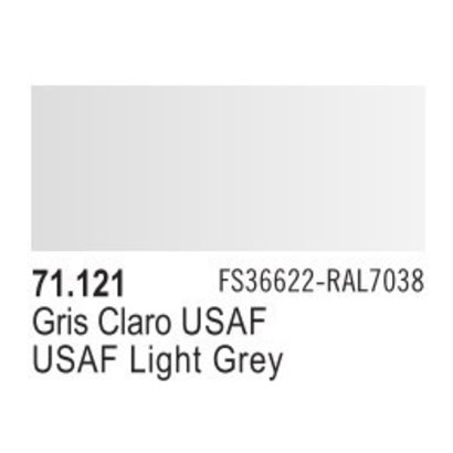 VLJ-VALLEJO ACRYLIC PAINTS 71121 - USAF LIGHT GREY             17ML