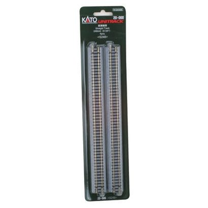 "KAT-Kato USA Inc 381- 20-000 N Track 248mm 9-3/4"" Straight (4)"
