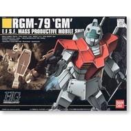 """BAN - Bandai Gundam #20 RGM-79 GM """"Mobile Suit Gundam"""" Bandai HGUC 1/144"""
