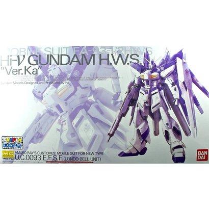 BAN - Bandai Gundam 201889 MG 1/100 HWS Hi-nu Gundam Ver Ka Mechanical Clear Model