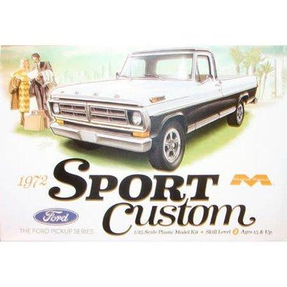 MOE - Moebius 1220 1/25 1972 Ford Sport Custom Pick-Up