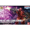 "BAN - Bandai Gundam 216379 MS-05 Zaku I Char Aznable Battle of Mare Smythii] ""The Origin"", Bandai HG 1/144"