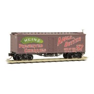 MTL - Micro-Trains Line 489- 36' Wood-Sheathed Ice Reefer- Heinz 374 Apple Butter