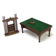 AZT - Aztec Imports Pool Table Set Walnut