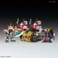 BAN - Bandai Gundam BB410 DianWei Asshimar/JiaXu Ashtaron/Siege Weapon & Six Combining Weapons SD