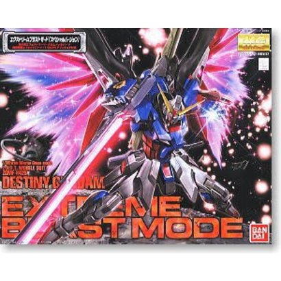 BAN - Bandai Gundam 151244 1/100 Snap Destiny Extreme Burst Mode MG