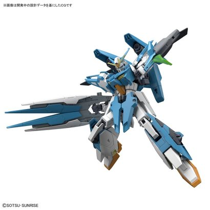 """BAN - Bandai Gundam 224496 A-Z Gundam """"Build Fighters"""", Bandai HGBF 1/144"""