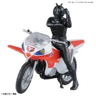 BAN - Bandai Gundam New Cyclone & Masked Rider 2