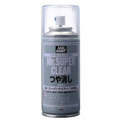 GNZ-Gunze Sangyo B514  Mr SUPER CLEAR FLAT Spray