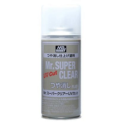 GNZ-Gunze Sangyo B523 Mr Super Clear UV Cut Flat