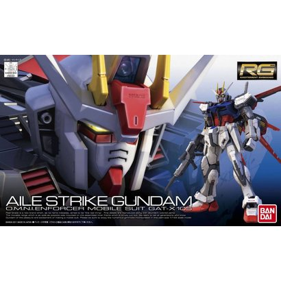 BAN - Bandai Gundam 169492 #3 Real Grade Aile Strike Gundam 1/144