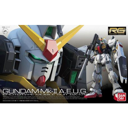 BAN - Bandai Gundam 176319 #8 RX-178 Gundam MK-II AEUG 1/144 RG