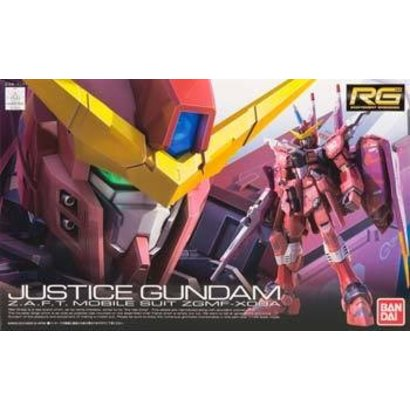 BAN - Bandai Gundam 176512 #9 Justice Gundam RG 1/144