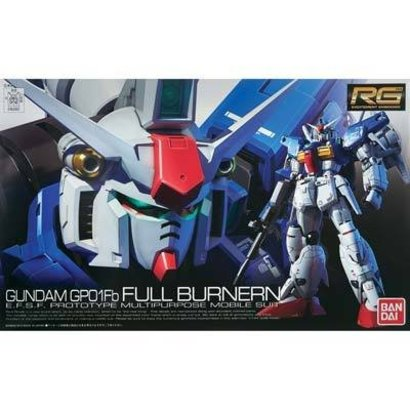 "BAN - Bandai Gundam 182655 #13 RX-78 GP01-Fb Gundam ""Zephyranthes"" Full Burnern RG 1/144"