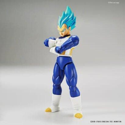 "BAN - Bandai Gundam 219766 Super Saiyan God Super Saiyan Vegeta ""Dragon Ball Super"", Bandai Figure-Rise Standard"
