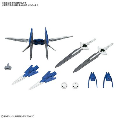 "BAN - Bandai Gundam 225746 Diver Ace Unit ""Gundam Build Divers"", Bandai HGBC"
