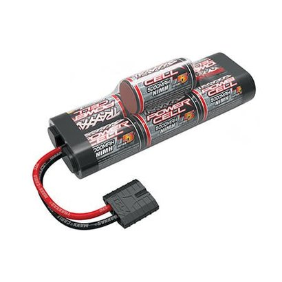 TRA - Traxxas 2961X Battery, Series 5 Power Cell, 5000mAh (NiMH, 7-C hump, 8.4V)