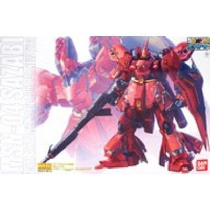 "BAN - Bandai Gundam 211978 Sazabi (Ver.Ka) (Mechanical Clear Ver.) ""Char's Counterattack"", Bandai MG 1/100"
