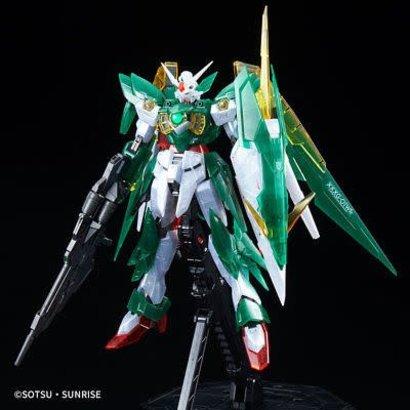 """BAN - Bandai Gundam 218639 Gundam Fenice Rinascita (Clear Color), """"Gundam Build Fighters"""", Bandai MG"""