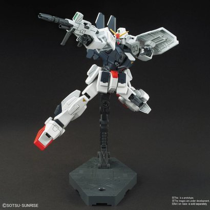 "BAN - Bandai Gundam 222262 Blue Destiny Unit 3 (Exam) ""Gundam: The Blue Destiny"", Bandai HGUC 1/144"