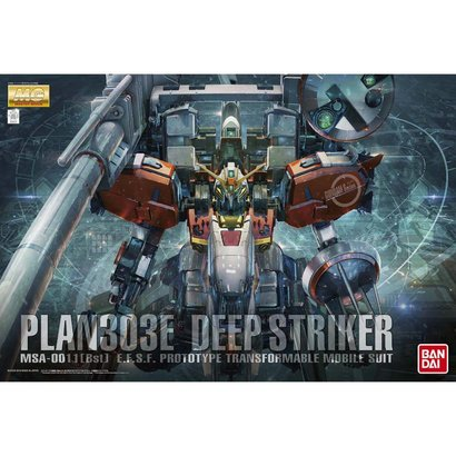 "BAN - Bandai Gundam Plan303E Deep Striker ""Gundam Sentinel"", Bandai MG 1/100"