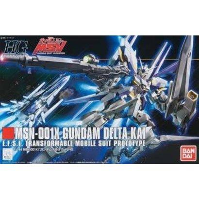 BAN - Bandai Gundam 179641 #148 Gundam Delta Kai Bandai HGUC