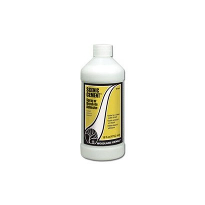 WOO - Woodland Scenics 785- S191 Scenic Cement  16oz 473mL *