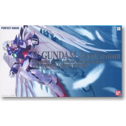 BAN - Bandai Gundam 149843 Wing Gundam Zero Custom Pearl Coating, Bandai Perfect Grade Action Figure