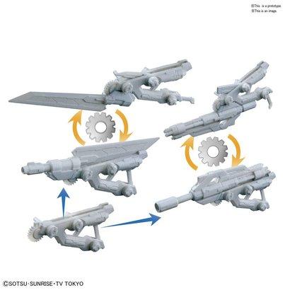 """BAN - Bandai Gundam 225760 #38 Spinning Blaster """"Gundam Build Divers"""", Bandai HGBC"""