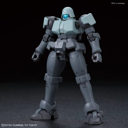 "BAN - Bandai Gundam 225758 #08 Leo NPD ""Gundam Build Divers"", Bandai HGBD 1/144"