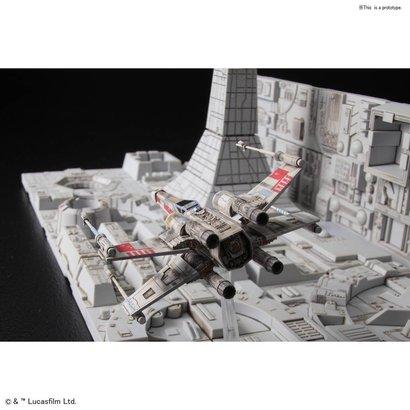 "BAN - Bandai Gundam 230343 Death Star Attack Set ""Star Wars"", Bandai Star Wars 1/144 Plastic Model Kit"