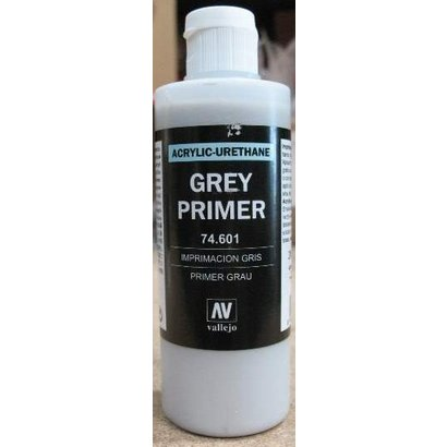 VLJ-VALLEJO ACRYLIC PAINTS 74601 - GREY PRIMER  ACRY-POLY      200ML